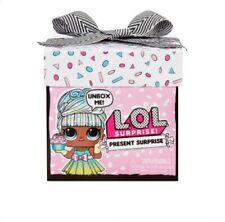 LOL Surprise Present Surprise Doll with 8 Surprises OPAL QT October...