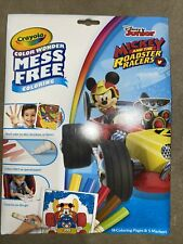 Crayola Color Wonder Mickey Mouse Coloring Book & Markers