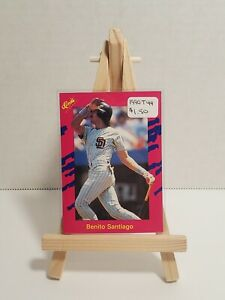 Vintage * MLB * San Diego Padres * 1990 Classic * T44 Benito Santiago