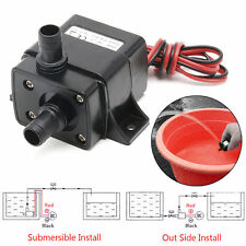 Mini DC12V 3m 240L/H Brushless Motor Submersible Water Pump Home New