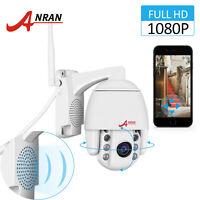 1080P IP CCTV Wifi Security Camera Pan/Tilt Zoom Wireless Two-way Audio Outdoor