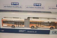Rietze 68824, Mercedes MB Citaro G 11, MVG Mainz, 51 Mio Fahrgast, neu, OVP