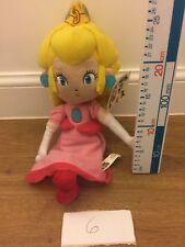 Super Mario Plush Teddy Princess Peach Soft Toy NEW & Tagged U.K. Seller