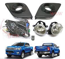 Fit 2015 2016 Toyota Hilux Revo Fog lamp light Spot light Pickup set OEM bulbs