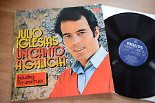 JULIO IGLESIAS Un Canto A Galicia LP Philips 6305 173