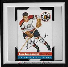 1954 Topps LOU JANKOWSKI #28 NM *tough hockey card for set* DD17