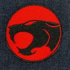 """Thundercats Cartoon Logo Iron On Embroidered Patch Free Shipping 2.5"""""""