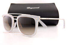 Brand New DSQUARED Sunglasses DQ 0201 27P Crystal/Green Gradient Women