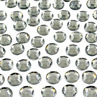 1000x Clear Crystal Flat Back Rhinestones Diamante Gems Nail Art Tips Craft 2mm
