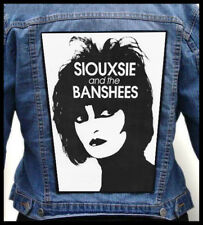SIOUXSIE AND THE BANSHEES --- Giant Backpatch Back Patch