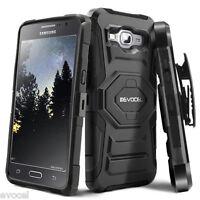Galaxy Grand Prime Case, Evocel Rugged Holster w/ Kickstand & Belt Swivel Clip
