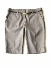 Tracy Evans Limited Bermuda Dress Shorts with Belt Junior Womens Size 9
