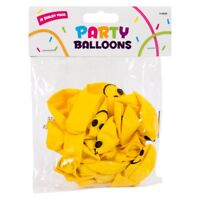 18 Smiley Face Balloons Parties Emoji All Occasions Decoration Birthday Balloons