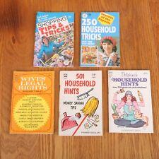 5 Vintage Dell Pocket Purse & Globe & Other Household Mini Magazines Book Bundle