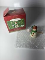 Hallmark Keepsake Ornament *Max* The Snowmen of Mitford 2000