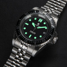 Cooper Submaster Automatic Divers Watch stainless steel jubilee bracelet 200M