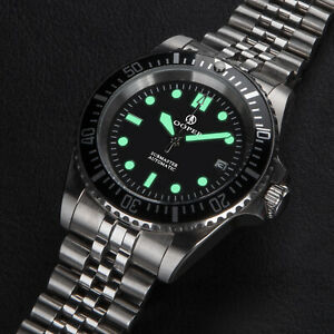 Cooper SUB MASTER SM8017 Automatic Military Divers 200m Watch   NEW