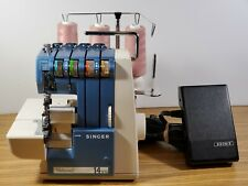 SINGER PROFESSIONAL 14U13 SERGER Industrial Sewing Machine, Works