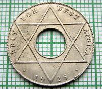 BRITISH WEST AFRICA GEORGE V 1925 1/10 PENNY, AUNC