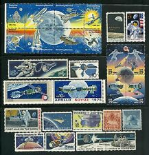 USA SELECTION SPACE EXPLORATION POSTAGE STAMPS MNH COLLECTION