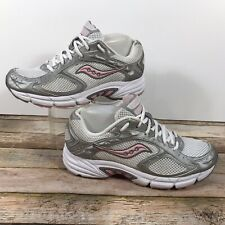 Saucony Prestige 15050 Running Sneaker White/Silver/Pink Women's Size 9