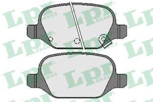 LPR Bremsbelagsatz Scheibenbremse 05P1724 hinten für FIAT PANDA VAN 4x4 312CXG2B