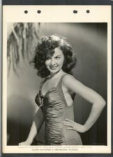 RARE EARLY - SEXY SUSAN HAYWARD IN SWIMSUIT - N MINT 1942 DBLWT KEY BOOK