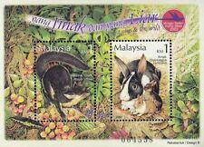 The Tame And The Wild Malaysia 2002 Rabbit Pet Animal Wildlife (Miniature) MNH