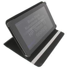 Custodia per HP Omni 10 5600EG stile-libro COMPRESSA Protettiva Set STAND BIANCO