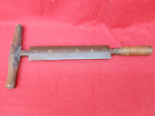 Vintage Fleshing Knife Tanners Hide Leather