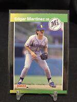 1989 Donruss Edgar Martinez RC #645 Seattle Mariners HOF