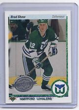 10-11 2010-11 UPPER DECK BRAD SHAW 20TH ANNIVERSARY FRENCH BUYBACK 90 WHALERS