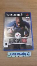 EA DEPORTES RUGBY 06 2006 SONY PS2 PLAYSTATION 2 PAL COMPLETO