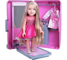 Designafriend Style & Go Suitcase & Harper Doll Beautiful Long Hair  New In Box
