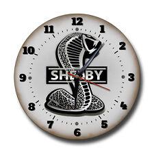 AC SHELBY COBRA 250 mm/ 25.4cm Diámetro Reloj de metal, TALLER, TALLER Reloj