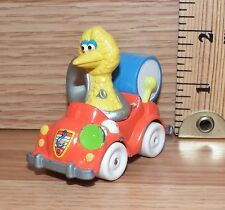 "Playskool Muppets 1987 Sesame Street ""Big Bird Car With Drum"" Toy Only **READ**"