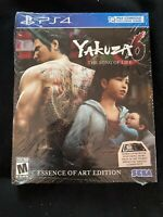 Yakuza 6: The Song of Life -- Essence of Art Edition - PS4 - BRAND NEW SEALED