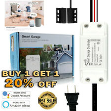 Smart Life WiFi Switch Garage Door Opener with Alexa Google Home APP Controls