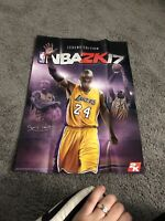 NBA2K17 KOBE BRYANT LEGEND EDITION TRIBUTE POSTER ONLY