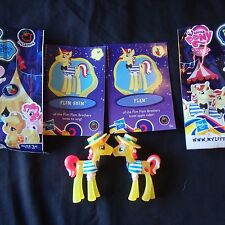 my little pony neon bright  mini blind bag Flim Skim and Flam Set/2 NEW/Loose