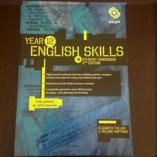 Insight Publications Year 12 ENGLISH SKILLS Student Workbook 2nd Edition