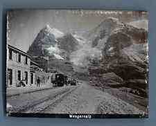 Suisse, Wengernalp Vintage citrate print. Switzerland  Tirage citrate  6x8