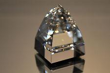 Swarovski Crystal Large Pyramid Paperweight Crystal Cal 7450 Nr 50 095 Mint Coa