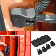 4*Car Door Striker+Door Check Arm Rustproof Cover For Toyota Highlander Yaris FJ