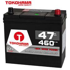 Autobatterie 12V 47Ah 460A/EN Japan Asia + Pluspol rechts Batterie 54523 45Ah