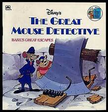 The Great Mouse Detective Basil's Great Escapes / First Edition 1986