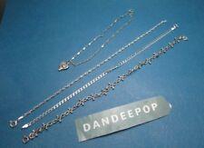 4 Silver Ankle Bracelets Jewelry