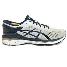Asics Gel Kayano 24 Men Size 11.5 Running Shoes Grey Silver Black T749N