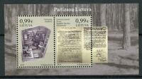 Lithuania 2019 MNH Partisans Anti-Soviet Resistance 2v M/S Military & War Stamps