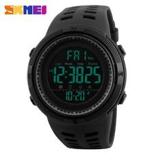 Mens Sport Watches Chrono Countdown Waterproof Digital Military Watch Best EB